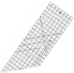 "Standard scale cutting special patchwork ruler 8"" x 24"" inch ruler E0824,sewing accessories"