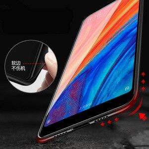 Image 5 - Caso de telefone de vidro temperado para xiao mi vermelho nota 7 pro xiao mi 8 mi 8 lite mi x 2s mi x 3 caso luxo aixuan capa