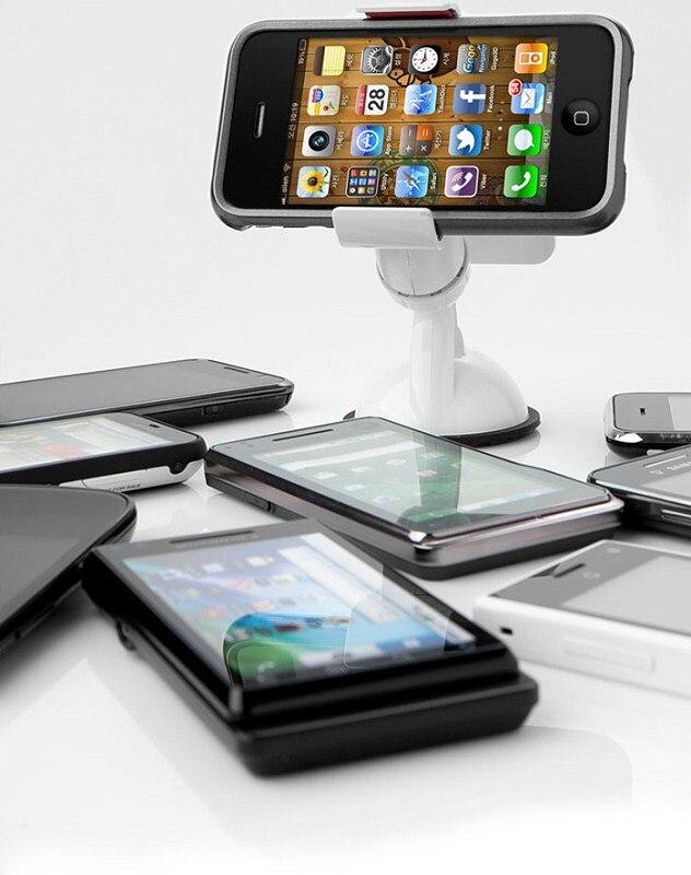 Soporte universal para teléfono de coche para iphone 7 Soporte - Accesorios y repuestos para celulares - foto 2