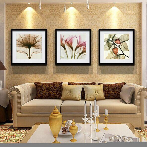 Flor de moda cl sica abstracto pinturas decoraci n del for Decoracion del hogar facil y economico