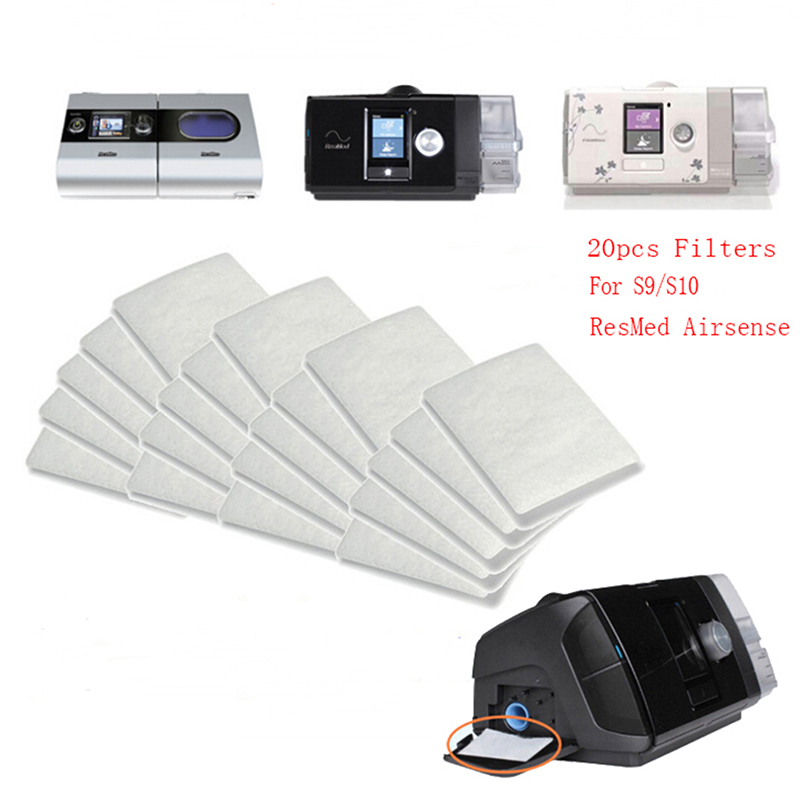 Rational 20 Pcs/bag Disposable Universal Replacement Filters For S9/s10 Resmed Airsense Back To Search Resultsbeauty & Health