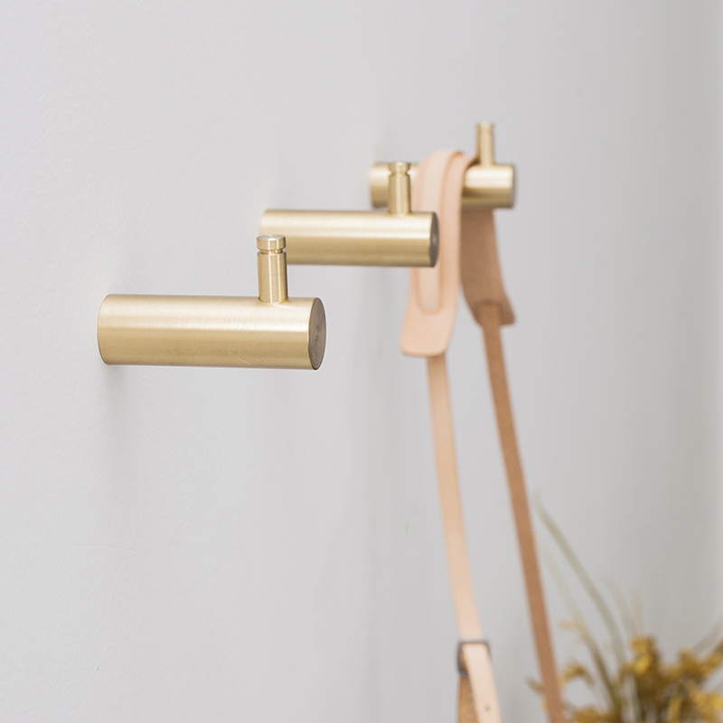 Brass Hooks Wall Door Clothes Coat Hat Hanger Kitchen Bathroom Rustproof Towel HooksBrass Hooks Wall Door Clothes Coat Hat Hanger Kitchen Bathroom Rustproof Towel Hooks