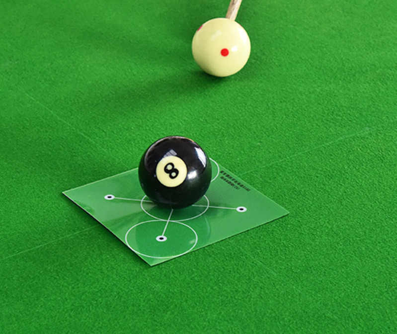 Snooker Aiming Aid, Dr.Cheol Billard Training Zubeh/ör,Snooker Accessories,Billiard Aim Trainer,Pool Cue Laser Sight