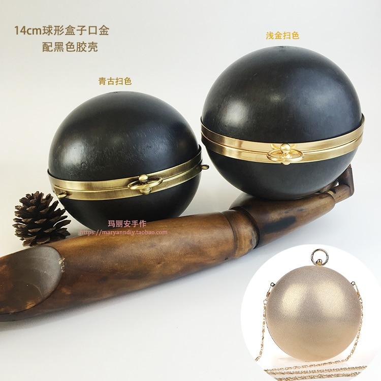 14 Cm Antique Brass Round Shape Metal Purse Frame DIY Handbag Accessories China Online Shop Obag Drop Shopping Purse Handle