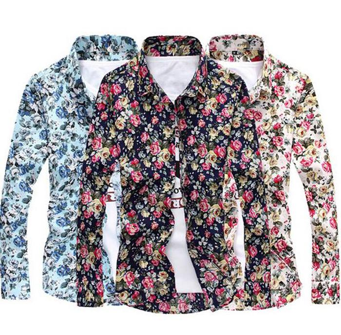 Compare Prices on Men Shirt Flower- Online Shopping/Buy Low Price ...