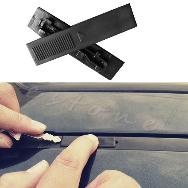 1 Pair Replacement Roof Rail Rack Moulding Clip Cover Snap