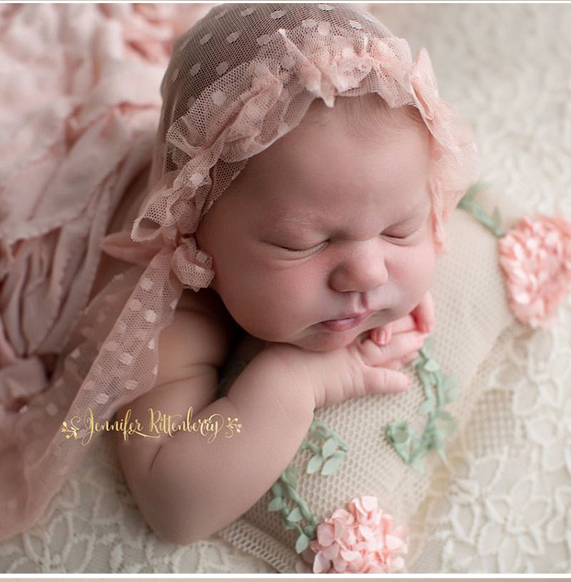 Baby photo pillow flower vine small pillow beautiful shape pillow baby photo props newborn photography props