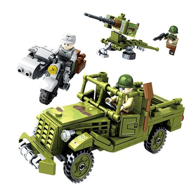 YETAA Ação da Justiça Militar Série Blocos de Construção Blocos de Construção do Modelo Minecraft DIY Legoe Technic Blocos Brinquedos Para Crianças