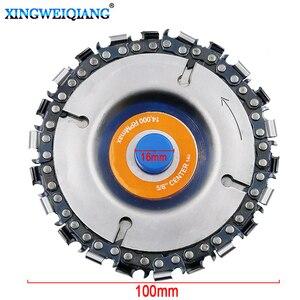 Image 1 - 4 Inch Grinder Disc En Ketting 22 Tand Fijn Cut Chain Set Voor 100 Mm Haakse Slijper