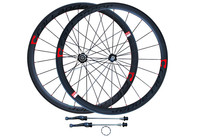 High Quality Strong CALLANDER 700C 48mm Clincher Rims Road Bike Matt 3K Full Carbon Bicycle Wheelsets