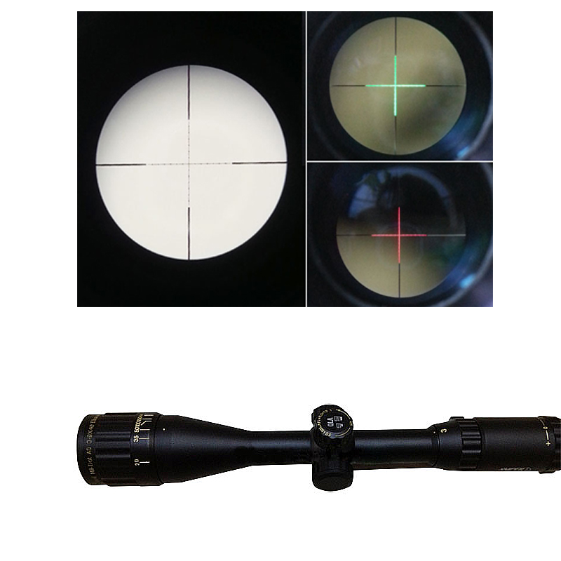 3-9X40 Rifle Scope Hunting Mil Dot Air Rifle Optics with Green Red Dot Cross Hair 11MM Rail Mount for Hunting Airsoft RL6-0046 air soft weapon gun 3 9x40 hunting rifle scope mil dot illuminated snipe scope