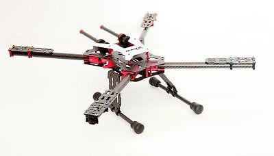 DAYA-550 Alien Carbone fibre Pliage 4 Axe FPV quadrirotor kit de châssis 550mm pour Feiyu MINI 3D CARDAN gopro 3 4 photo aérienne