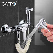 Gappo bidé torneira bidé pulverizador chuveiro de mão banheiro cromado bidé conjunto torneira do chuveiro wc bidé spray abs lavadora fg2041