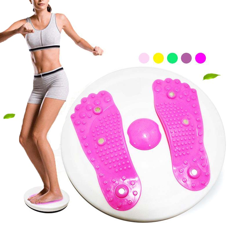 Twisting Plate Magnet Fitness Equipment Exercise Training Beauty Waist Women's Body Shaping Belly Legs Turntable