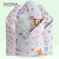 Spring Summer Thin Toddler Child Blanket Thin Breathable Cotton Cartoon Pattern Sleeping Bag Envelope For Newborns Infant BB030