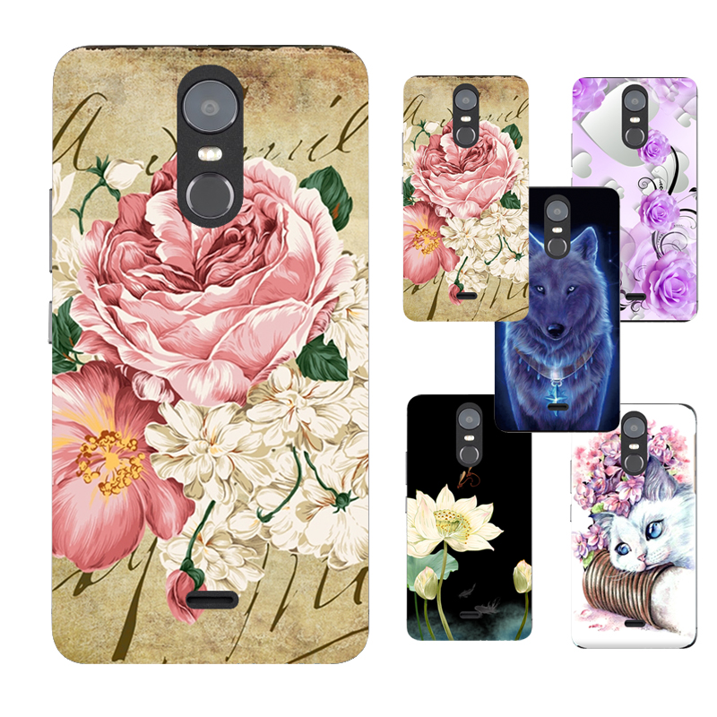 For Highscreen Fest XL Floral Sleepy Darling Baby Cat Animal Case For Highscreen Fest XL PRO Back Cover Bag TPU Cases