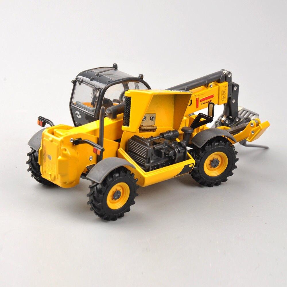 Colección Diecast 1/50 Telehandler LM1745 Turbo construcción vehículos de ingeniería, camión modelo juguetes para niños Ingeniería Bulldozer grúa Compatible legoing Technic camión edificio bloque ciudad construcción juguete para niños