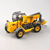 Collection Diecast 1/50 Telehandler LM1745 Turbo Construction Truck Engineering Vehicles Model Kids Toys