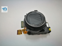 test OK 95%new no scratch original black for Cano G15 LENS With ccd use camera repair parts