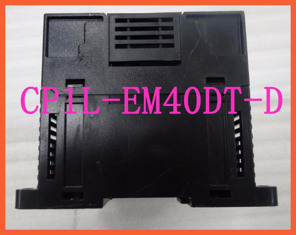 New Original Programmable controller CP1L-EM40DT-D PLC CPU DC input 24 point transistor output 16 point 1746 ib16 plc 10 30 dc sink 16 number of inputs new original