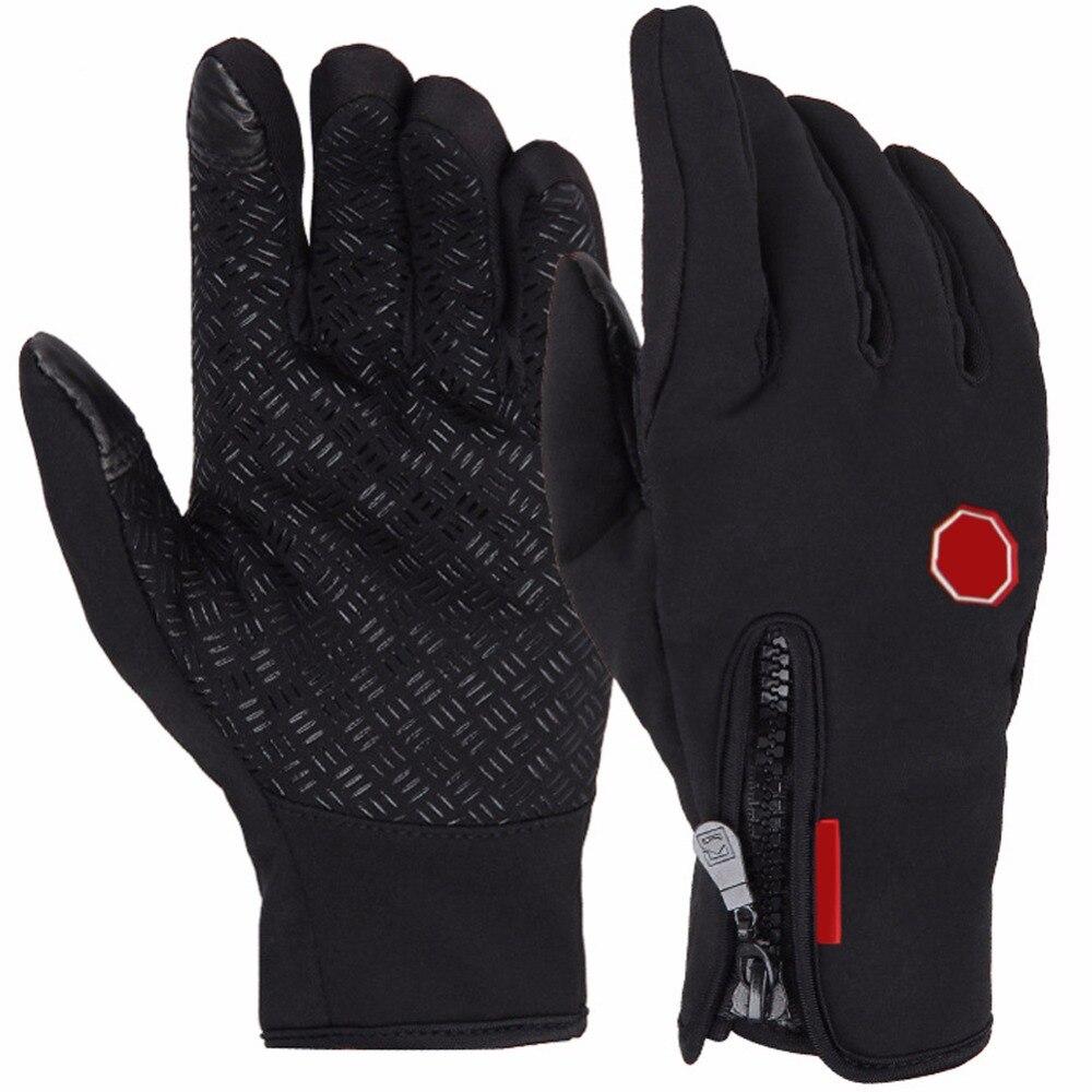 Daudzfunkciju pilna pirkstu cimdi, ūdensnecaurlaidīgi ziemas silti skārienjūtīgie cimdi, slēpošana, motociklu vēja necaurlaidīgi riteņbraukšanas cimdi