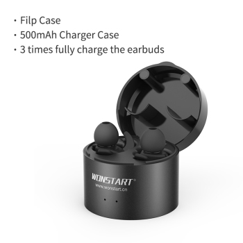 Wonstart W302RD TWS Wireless Earbuds Mini Bluetooth Earphone With Mic HIFI Stereo In Ear With Charging Case Headset For Phone
