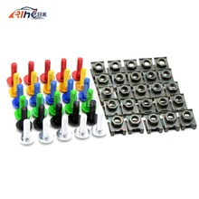 6mm motorcycle fairing body screws for bmw f800gs f800r f800r s1000r honda vtr 1000f cbr250r x4