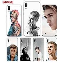 Transparent Soft Silicone Phone Case Justin bieber for Samsung Galaxy S10 S10e Plus S10+ M10 M20 Cover