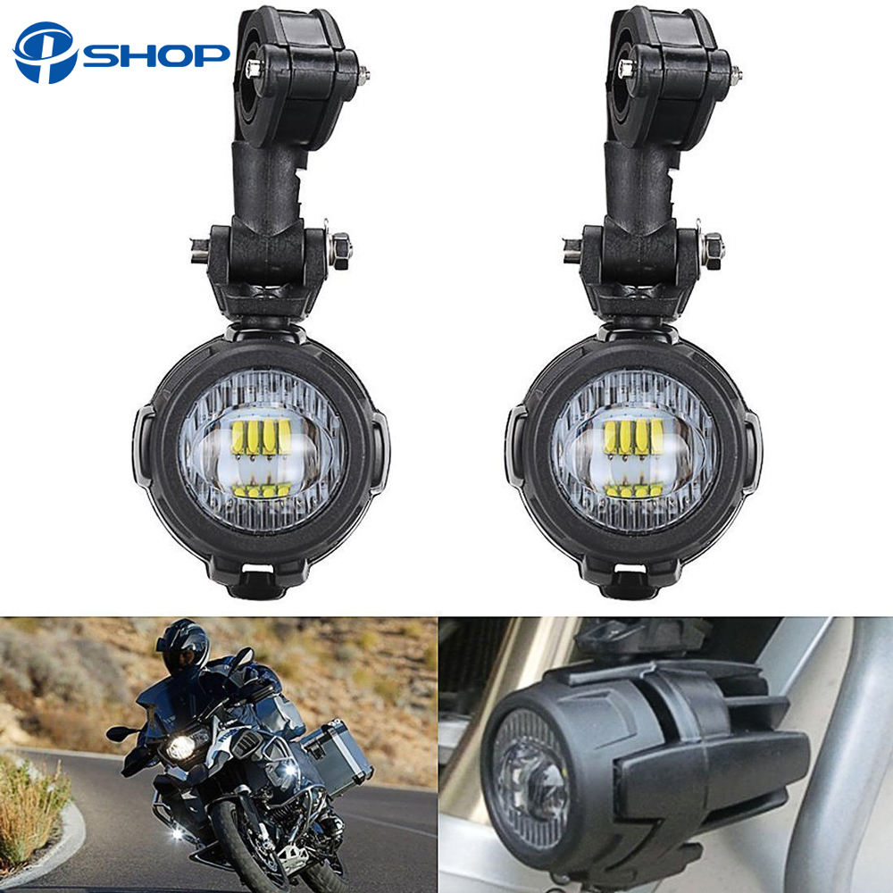 For BMW R1200GS Front Brackets fog light for Led Driving Lights for BMW R 1200 GS Adventure LC 2014 2015 2016 Motorcycle Parts front head light driving aux lights fog lamp assembly for bmw r1200gs lc adv f800 f750 f650 r1150 gs motorcycle accessories