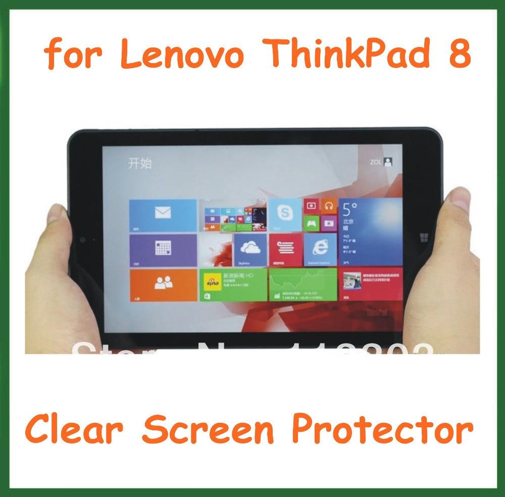 20 Pcs Jelas Pelindung Layar Lcd Film Untuk Lenovo Soket Ic Premium 8 Pin Round Hole Lubang Bulat Type Gold Plate Thinkpad Tablet Pc 83 Inch Dengan Kamera Ada Paket Ritel