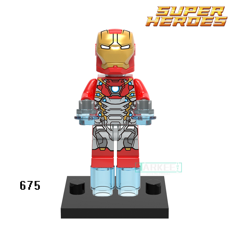 Building Blocks Iron Man Spider Man XH675 Vulture Marvel Avengers Figures Super Heroes Star Wars Bricks Kids DIY Toys Hobbies
