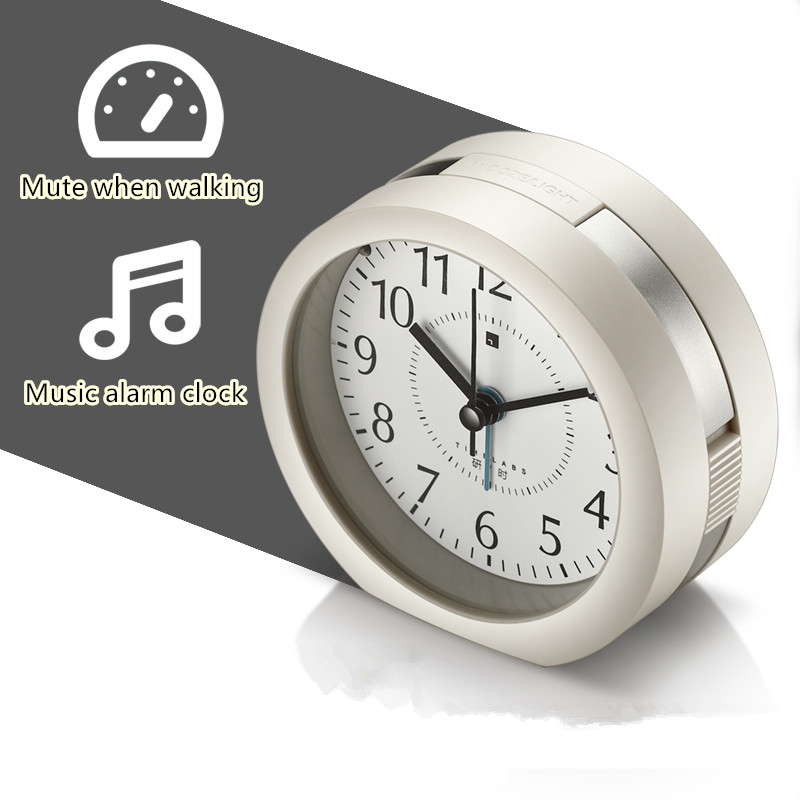 Free Shipping The Lazy Student Bedside Mute Music Alarm