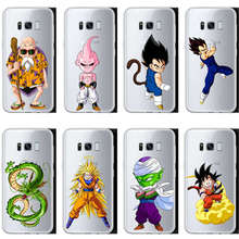 Kuliai   Dragon Ball z goku DragonBall Hard Style White for Samsung Galaxy 2017 2016 2015 A7A3 A5 J7 J5 J3 Case Cover цена и фото