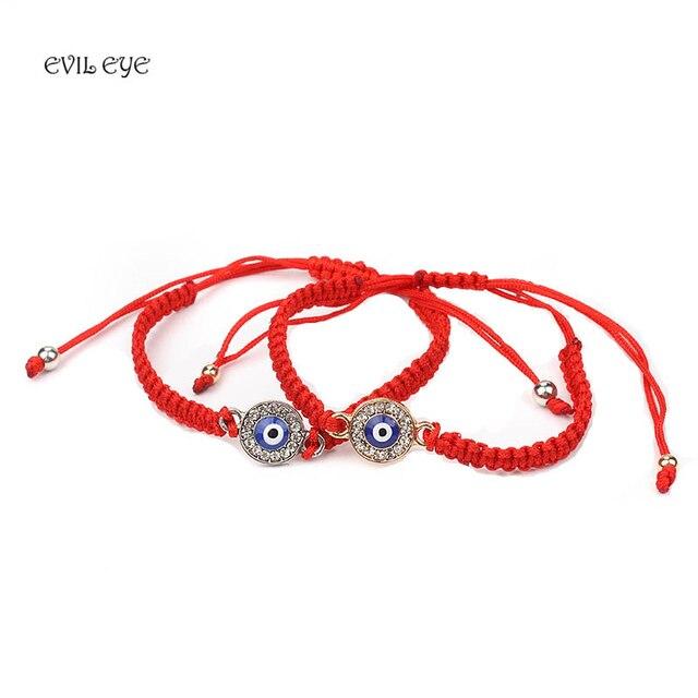 Red String Bracelet Evil Eye Of Fate Good Luck Amulet