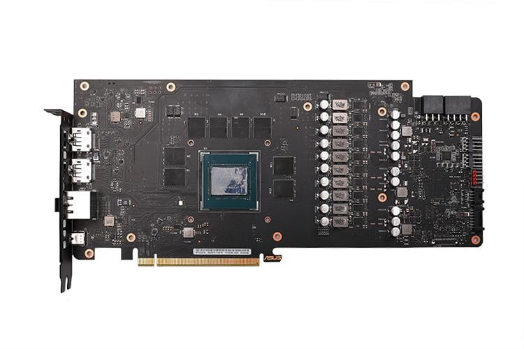 Купить с кэшбэком BARROW Water Block use for ASUS ROG STRIX RTX2070 8G GAMING / A8G / O8G GAMING / Support Original Backplate 5V 3PIN Header RGB