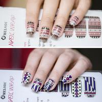 1 Sheet Nail Art   Stickers   Foils Polish Nail   Decals   Patch DIY Nail Decoration Tools Full Cover Nail Wraps MDS1033-1056