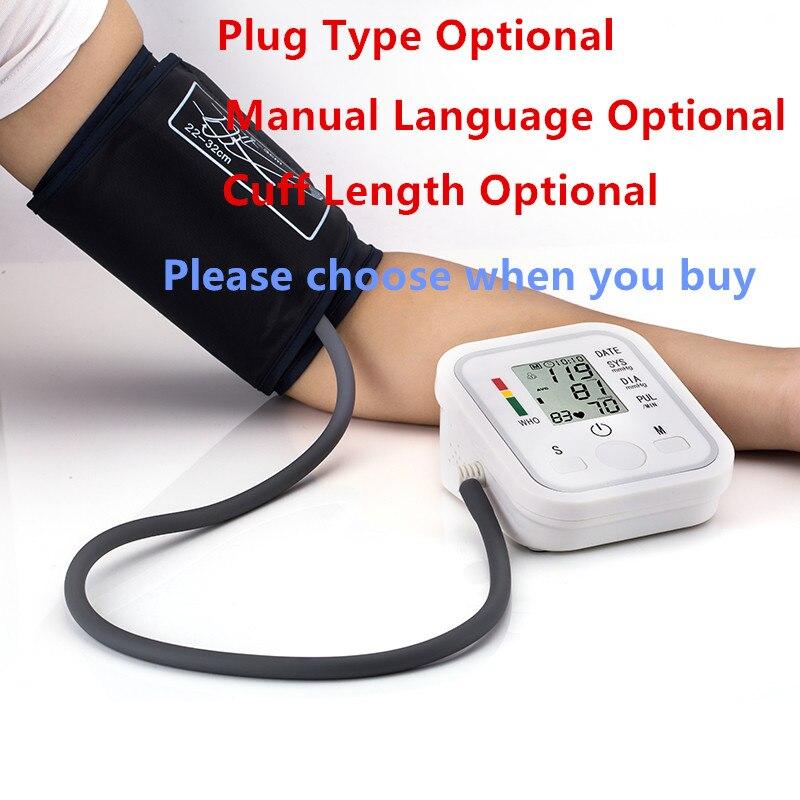 Automatic Digital Arm Blood Pressure Monitor BP Sphygmomanometer Pressure Gauge Meter Tonometer for Measuring Arterial Pressure 1