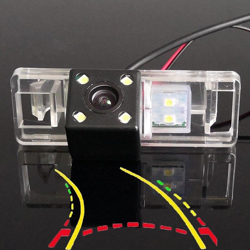 Intelligent Dynamic Trajectory Tracks Car Rear View Camera For Citroen C2 C3 C4 C5 C6 C8 DS3 DS5 Sega Elysee C-Elysee C-Quatre