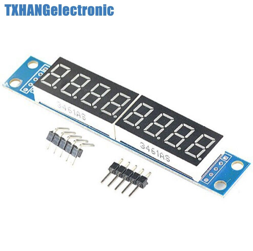 5PCS MAX7219 EWG 8-Digit Digital Tube Display Control Module Red for arduino