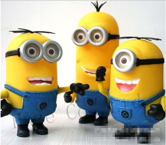 Minions Stewart Tim Dave Action Figure 5 9 7 SET OF 3