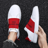 Shoes Men Slip on Men's Casual Shoes Classic Comfortable Flat loafers 2019 Fashion Black White Men's Sneakers