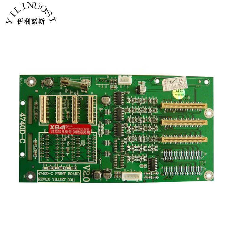 Xenons X3A-6407ASE Eco-solvent Printer 4740D-C (X841) Printhead Board choices elementary teacher s book dvd rom