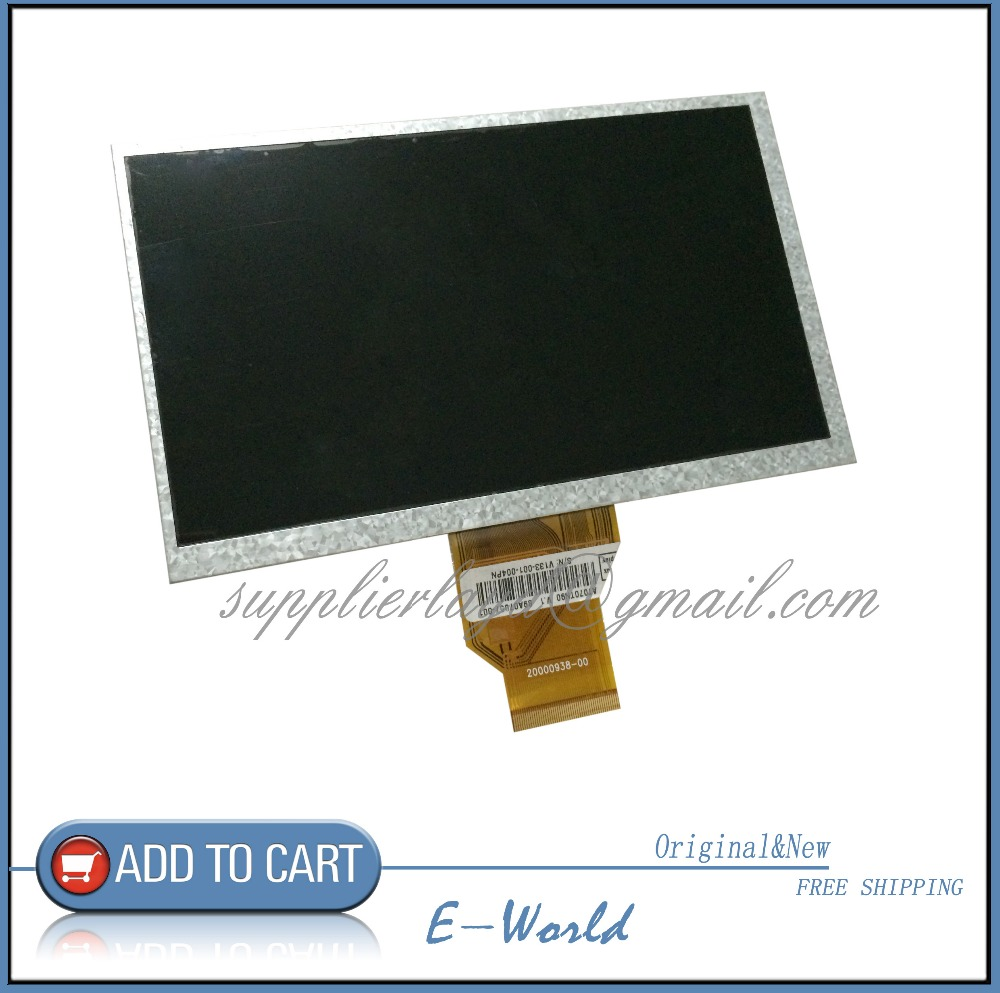 Original LCD screen WEXLER T7001B For tablet pc free shipping