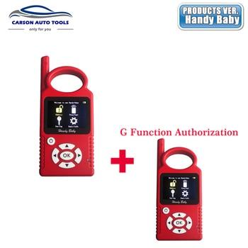 Original Handy Baby  V8.3.0 Car Key V7.0 Copy jmd Auto Key Programmer for 4D/46/48 Chips Plus G Chip Copy Function Authorization