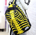 2017 Selling Fashion backpacks human skeleton personality Backpacks casual unisex backpack Trend Travel Bag Waterproof bag dh243
