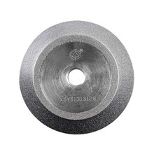 Diamond Grinding Wheel (SDC or CBN optional) for End Mill Grinder Grinding Machine MR-X5, X7, F6, 90x16.2x12.7 mm(China)