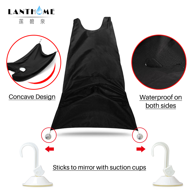 Brilliant Men Beard Apron Bathroom Apron Male Beard Shaving Use Apron Waterproof Sink Cleaning Protection Wrap Beard Hair Care Shave Cloth Styling Tools