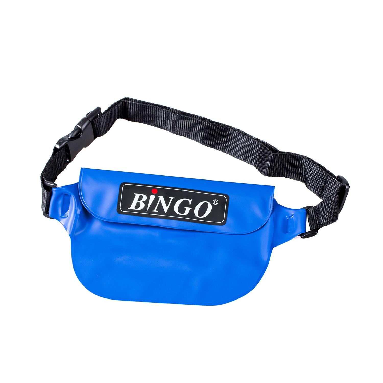 Bingo Waterproof Bag Rafting Waist Packs for Phone Wallet Purse Compact Camera(blue)