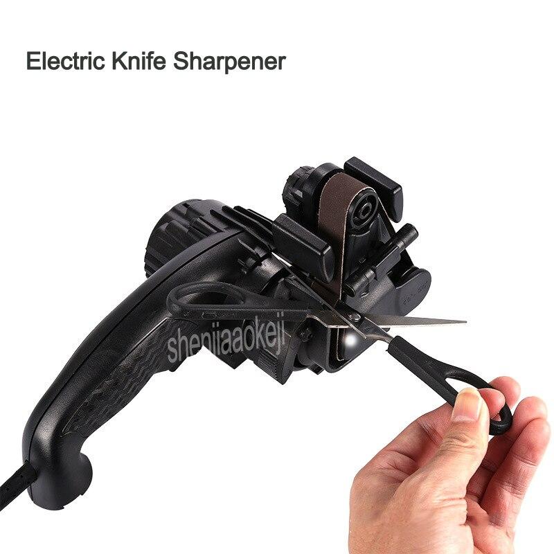Home Handheld Electric Knife Sharpener Portable Automatic Grinding Adjustable Sharpen Knives Kitchen Tool 1pcHome Handheld Electric Knife Sharpener Portable Automatic Grinding Adjustable Sharpen Knives Kitchen Tool 1pc