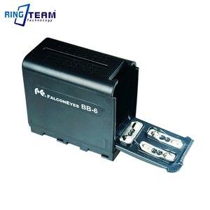 Image 1 - Пустая батарея пустая батарея, чехол адаптер NPF970 для 6 шт. AA, светодиодный светильник, лампа, панели или монитор YN300 III, светодиодный светильник, лампа, лампа YN300 III, лампа, экран